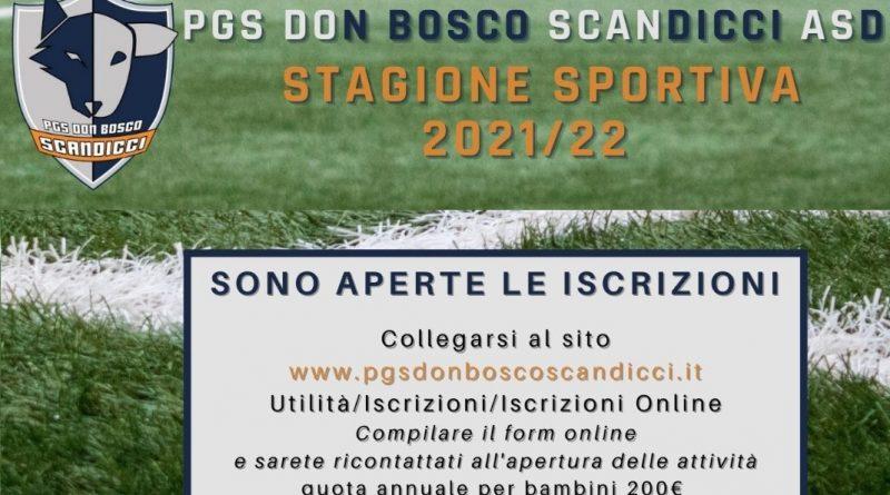 Attività sportive PGS 2021/22